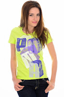 Tricou PUMA pentru femei COLORING PUMA LETTER TEE (PUMA)