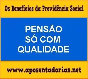 Previdência Social – Pensão por Morte só com Qualidade de Segurado.