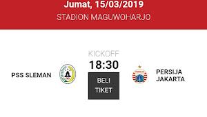 Tiket Online PSS Sleman vs Persija Jakarta di Piala Presiden 2019