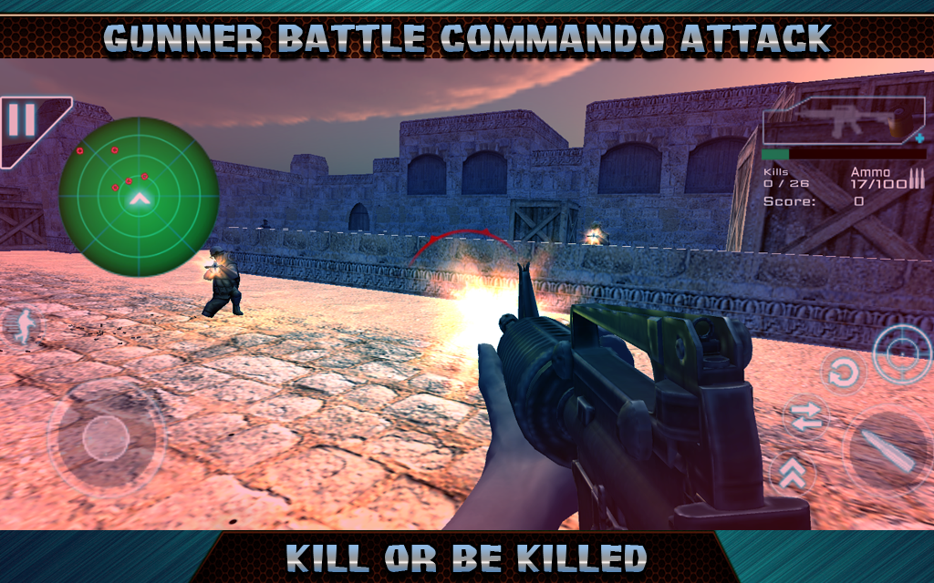 Gunner Battle Commando Attack MOD APK