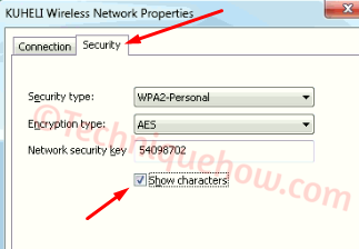 Saved WiFi Password on Windows 10 revealed