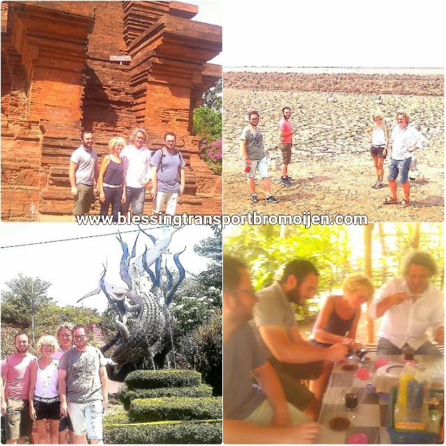 Romain Guigorès and friends, transport Surabaya to Bromo-Ijen-Bali. August 2th-4th, 2017.