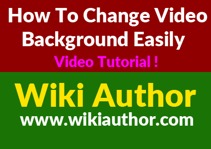 How to Change Video Background Easily
