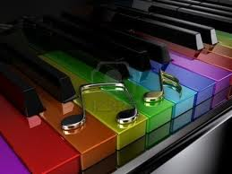 COLOR PIANO: Aprenda Piano visualizando el color del sonido