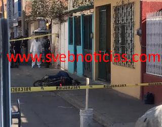 Moto-sicarios ejecutan a hombre este Jueves en Irapuato Guanajuato