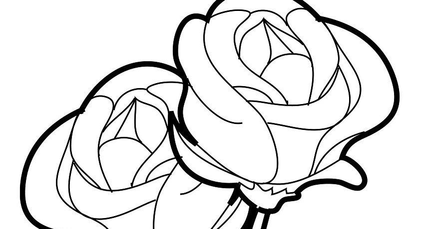 Imagenes De Rosa Para Dibujar