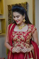 Jenny Honey in Stunning Dark Red Anarkali Dress at Splurge   Divalicious curtain raiser ~ Exclusive Celebrities Galleries 017.JPG