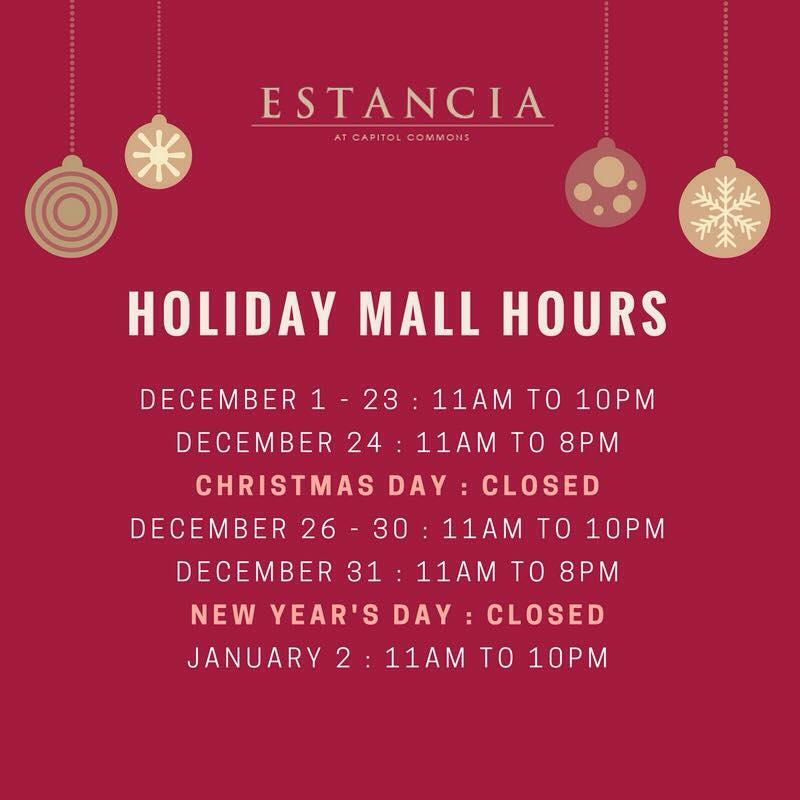 Manila Shopper: Holiday Mall Hours, Supermarkets & Theme Parks ...