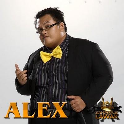 alex, alex terkeluar maharajalawak minggu ke4, alex maharajalawak, alex tersingkir maharajalawak minggu ke4