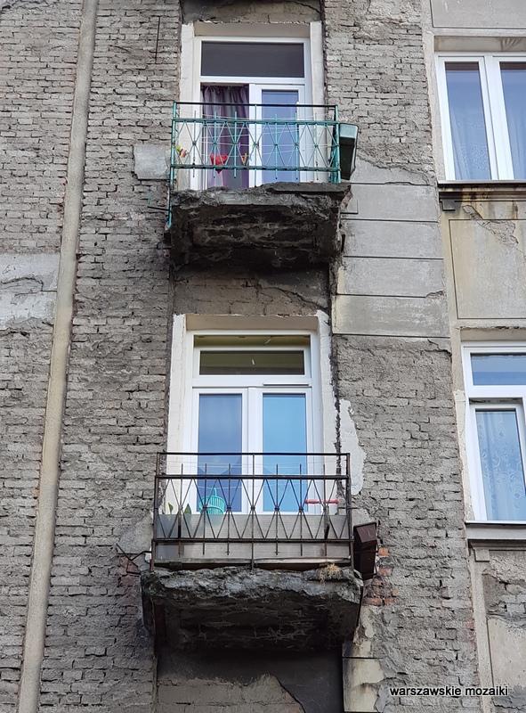 Warszawa Warsaw Praga Północ praskie ulice kamienica architektura praskie klimaty okno balkon