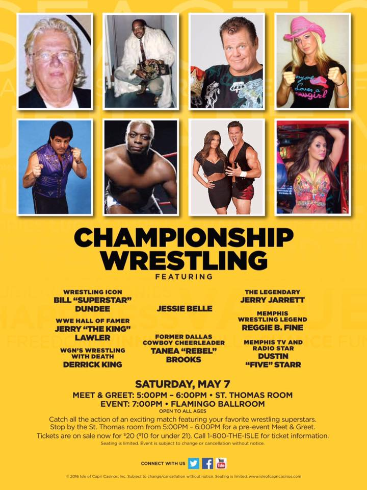 Wrestling news center watch wmc tv action news 5 championship watch wmc tv action news 5 championship wrestling interview with jerry the king lawler and mayor oscar barlow about tonights big event at the isle of m4hsunfo