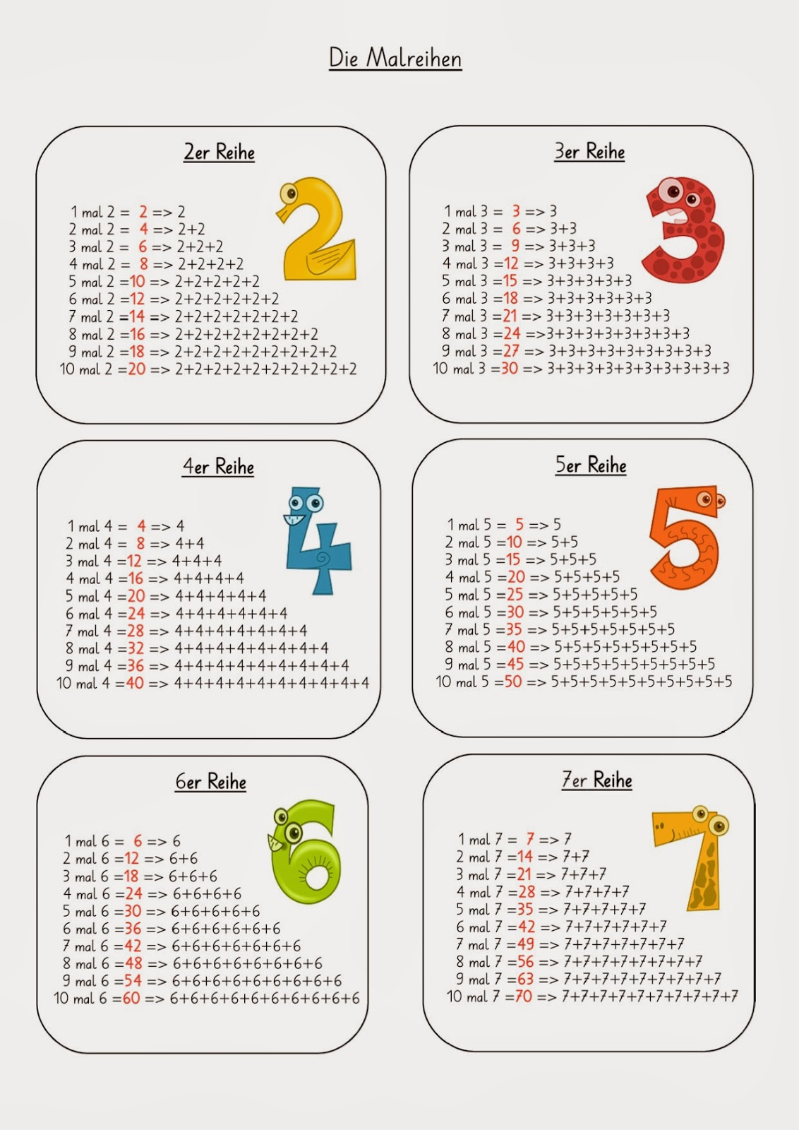Lernspiele Mathematik