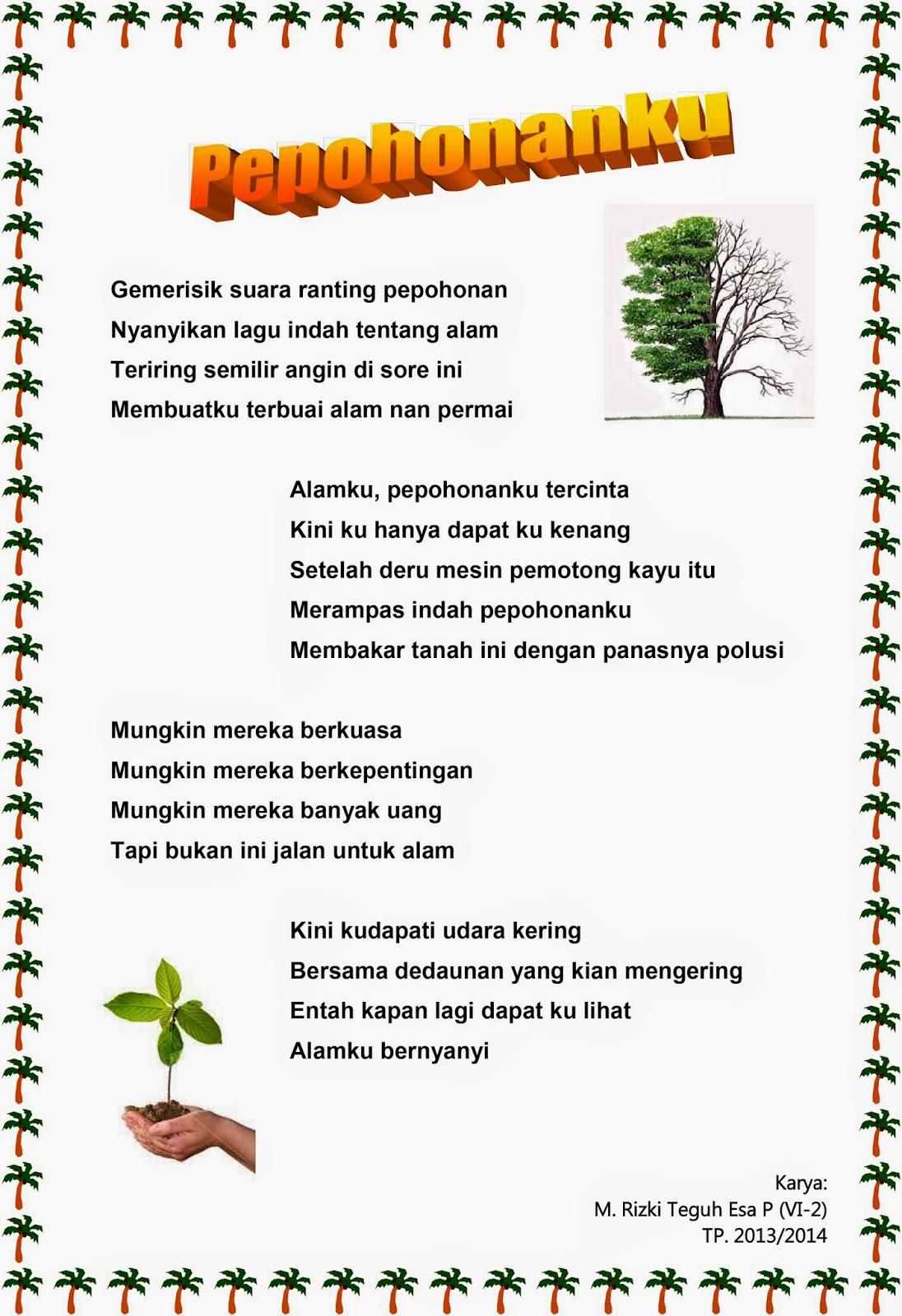 Contoh Pantun Sunda - Ndang Kerjo