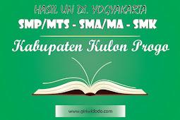 HASIL UN SMA/MA Kabupaten Kulon Progo Tahun 2015 – 2017 Jurusan IPA