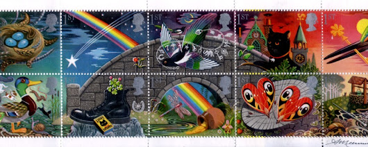 1991-02-05 Good Luck Greeting Stamps