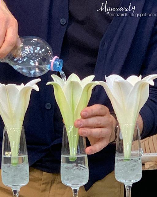 Virágkehely váza készül I Manzard9