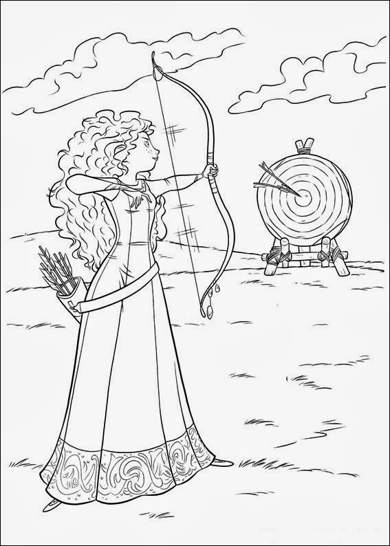Fun Coloring Pages Brave Coloring