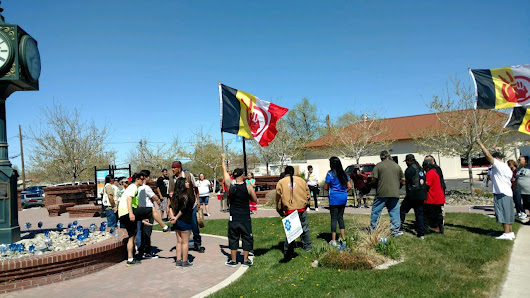 Honoring Missing Indigenous People in Fallon, Nevada