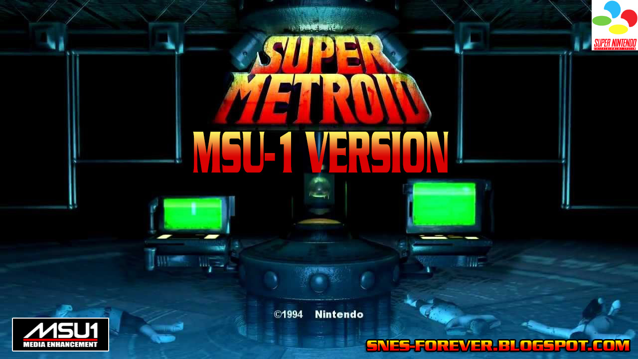 Super Nintendo para sempre!: Super Metroid MSU-1