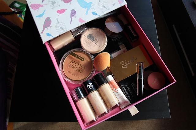 Storing Make Up