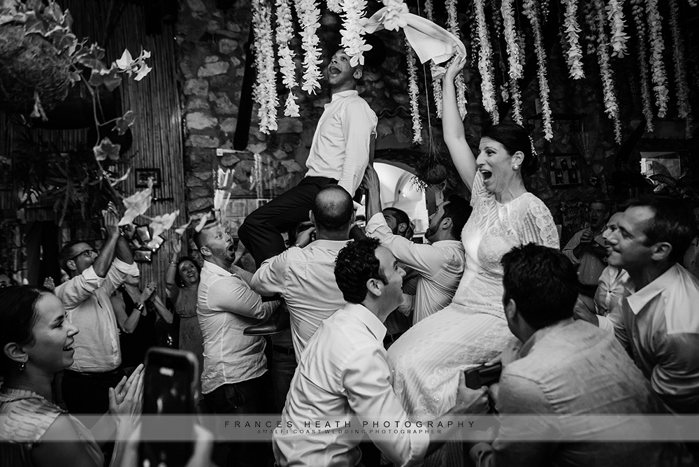 Jewish wedding dance the Hora