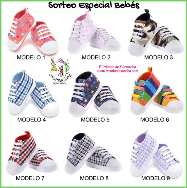 zapatillas bebés primavera - verano