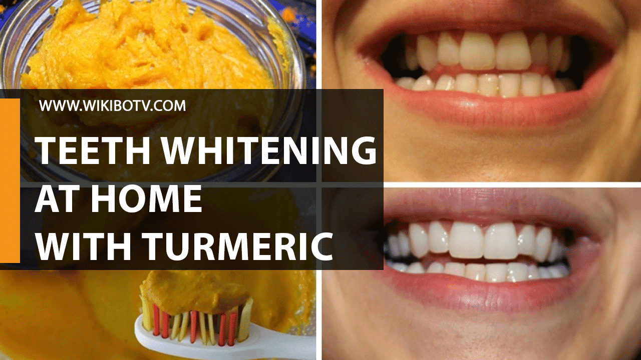 How To Whiten Teeth at Home With Turmeric