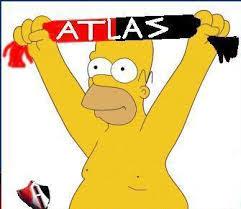 atlas Simpson futbol