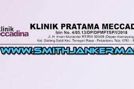 Lowongan Klinik Pratama Meccadina Pekanbaru April 2018