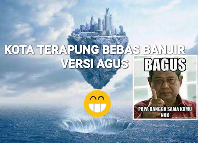 Mungkin Ini yang Dimaksud Agus Yudhoyono Soal Kota Terapung Solusi Banjir Jakarta