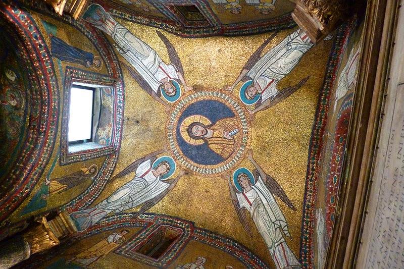 Igreja de Roma Santa Prassede, capela de São Zeno