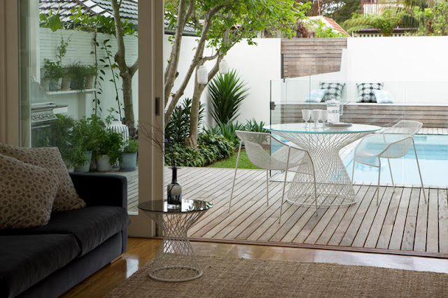 Piscina no quintal jeito de casa blog de decora o e for Piscina para patio pequeno