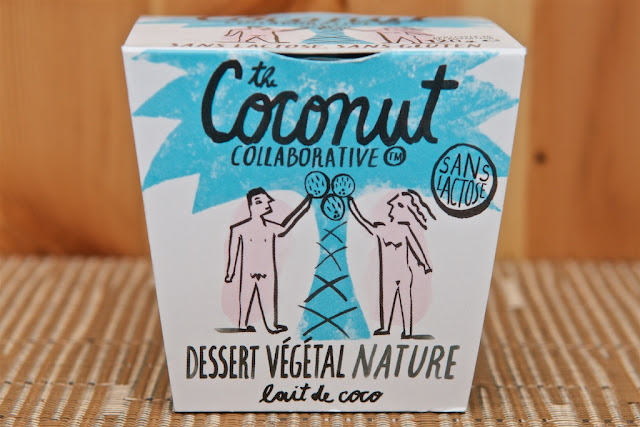 Dessert Végétal Nature Lait de Coco - The Coconut Collaborative - Gluten free - Lactose free - Sans lactose - Sans gluten - Vegan - Yaourt Noix de Coco - Gü - Lait de coco - Coconut Yoghurt - Noix de coco - Coconut - Dessert - Yaourt végétal