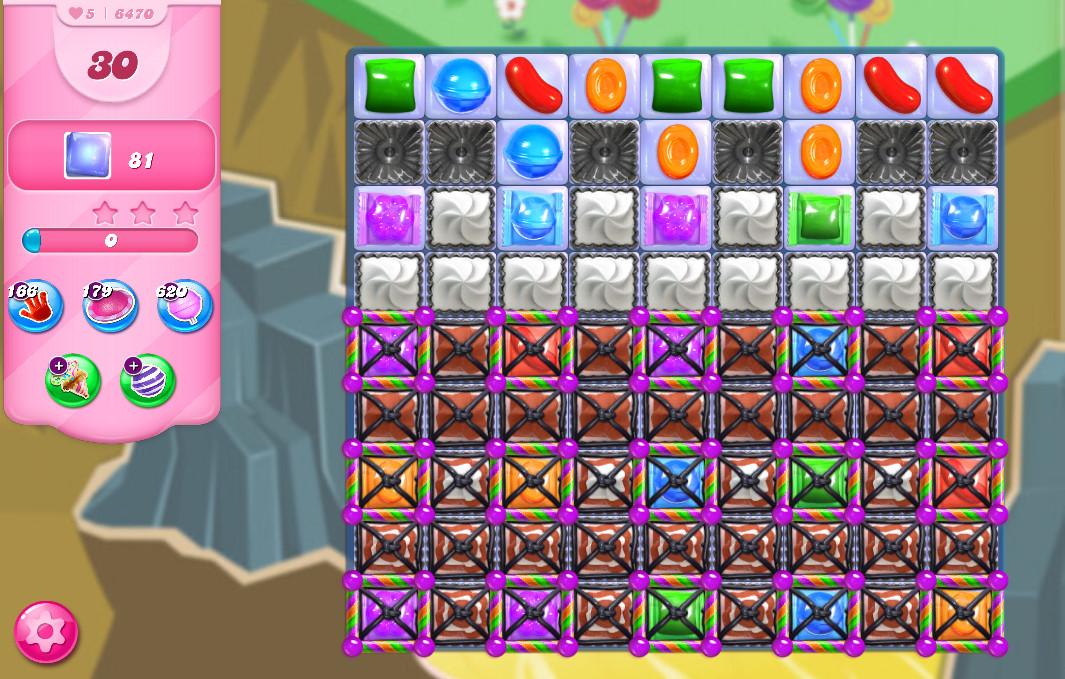 Candy Crush Saga level 6470