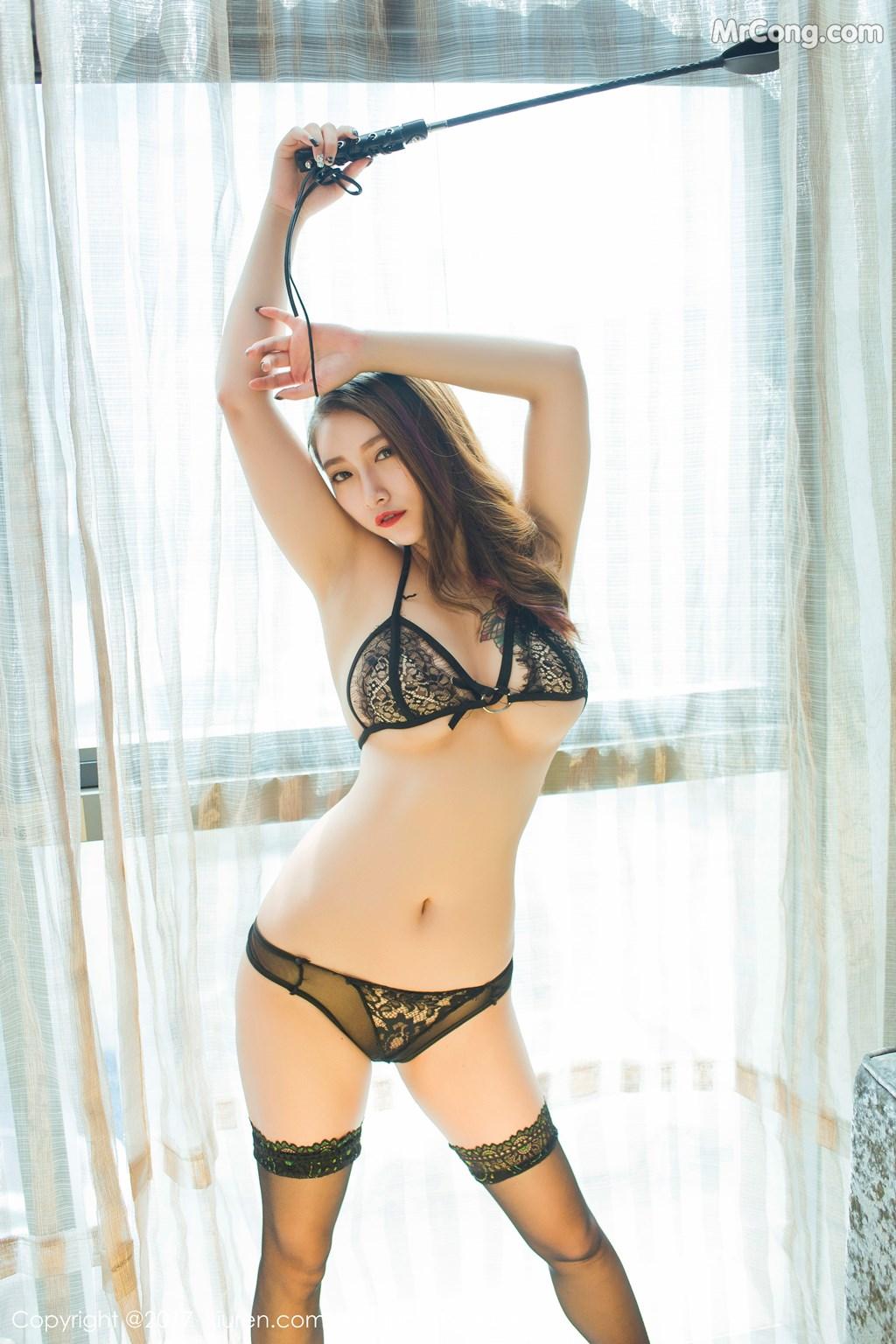 Image XIUREN-No.812-Du-Hua-Hua-MrCong.com-008 in post XIUREN No.812: Người mẫu Du Hua Hua (杜花花) (48 ảnh)