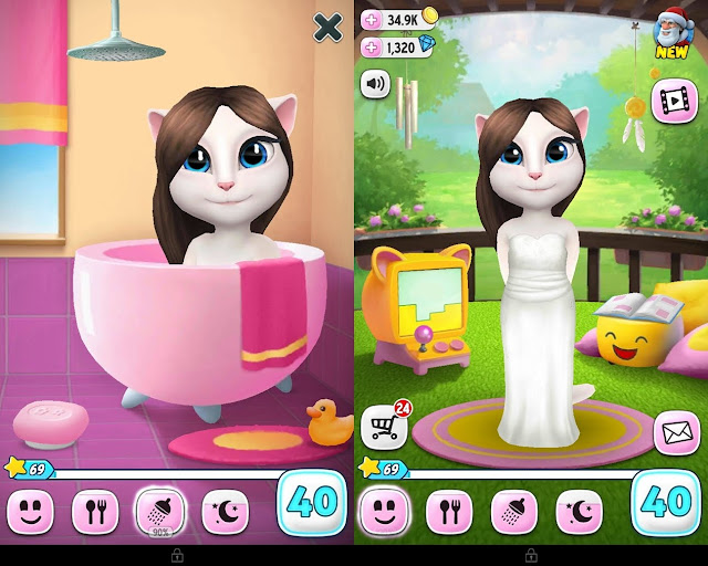 My Talking Angela Game Android untuk Kucing