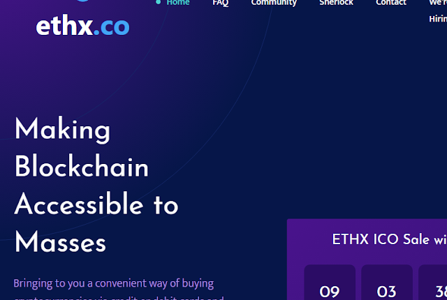 Join the Revolutionary Cryptocurrency Exchange and Wallet Ethx.co