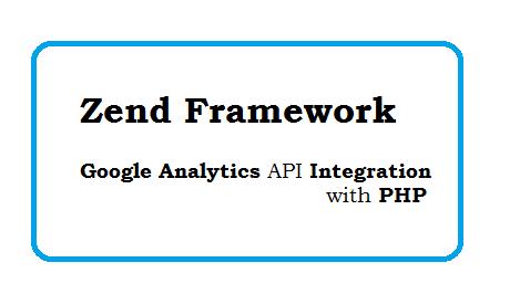 Zend Framework - Free Google Analytics API