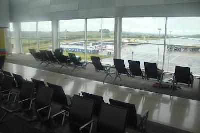 Novo terminal do aeroporto de Viracopos, em Campinas.