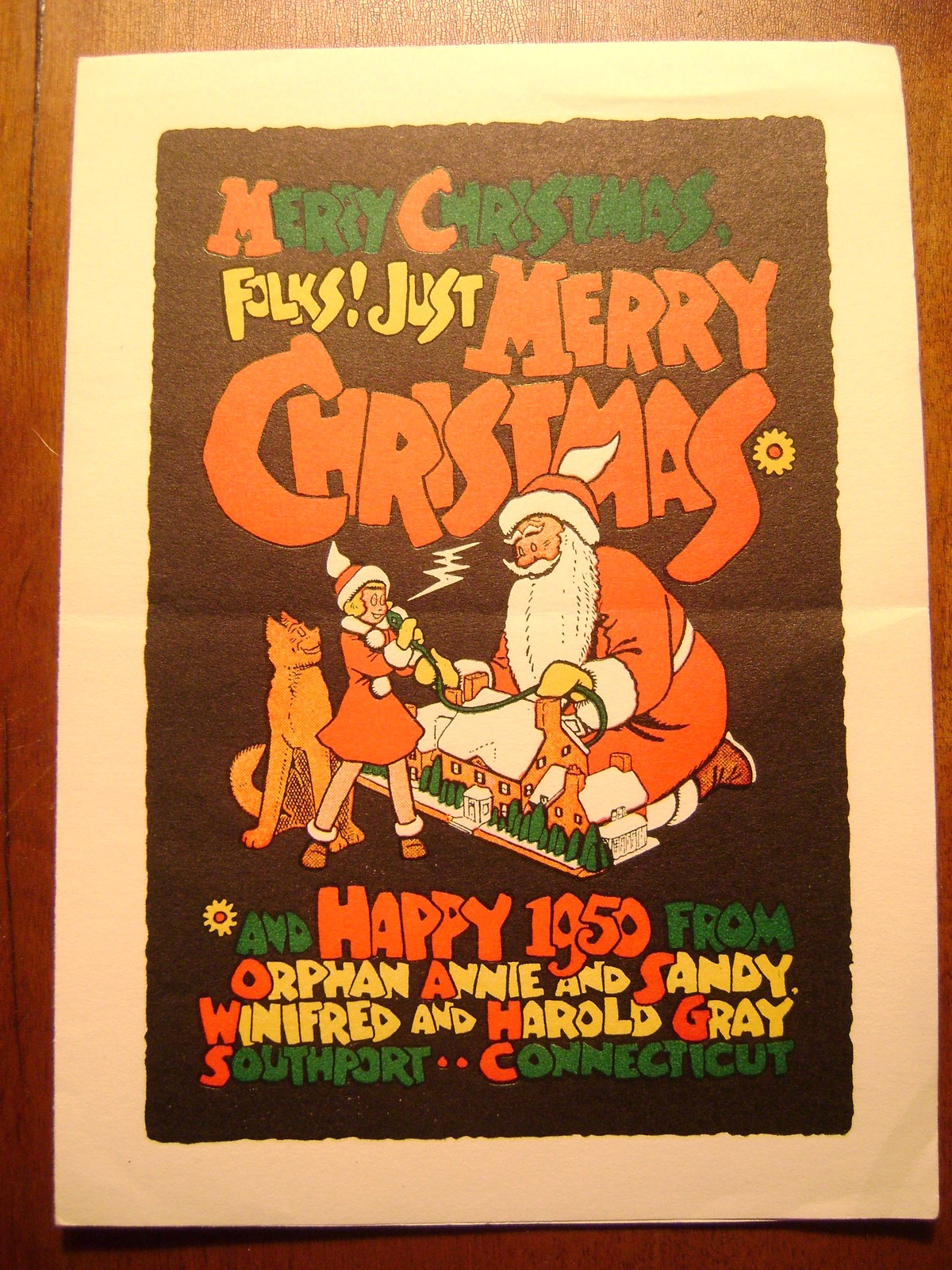 Pop Culture Safari Vintage Christmas Cards Little