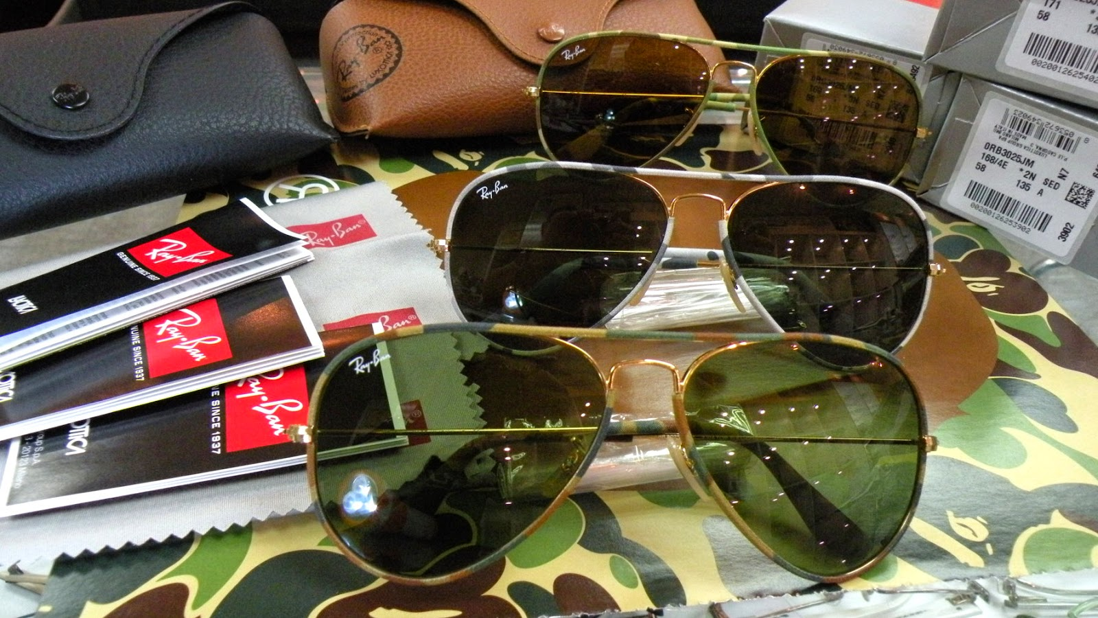 Ray Ban AVIATOR CAMOUFLAGE RB3025JM Full Color