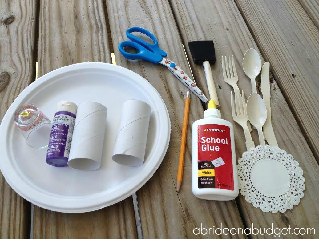 DIY Wedding Table Setting | A Bride On A Budget