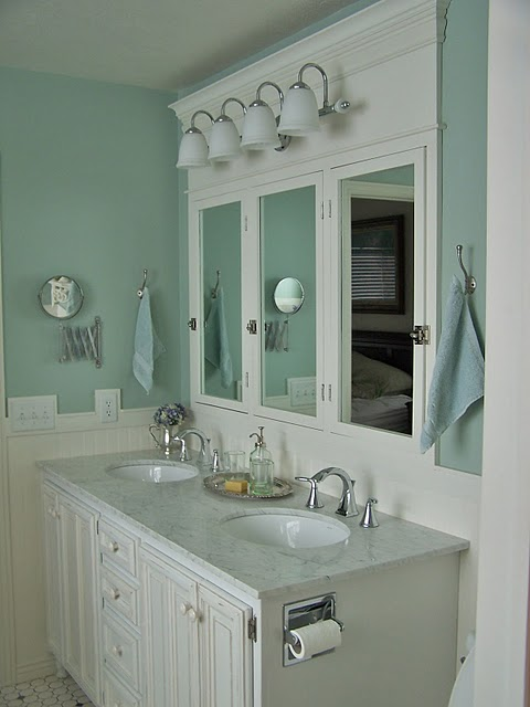 Complete DIY Master Bathroom Remodel. By Batchelors Way Photo