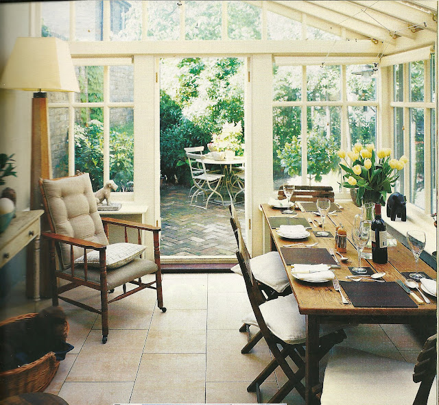 Sunroom Dining Room: My Notting Hill: From The Stacks: Quiet Ambience