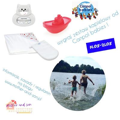 Konkurs z Canpol Babies : wygraj zestaw kąpielowy!