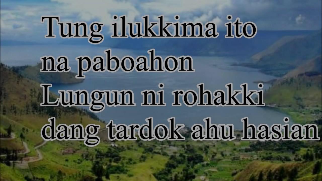 Lirik Lagu Ilukki Ma Paboahon dan Artinya