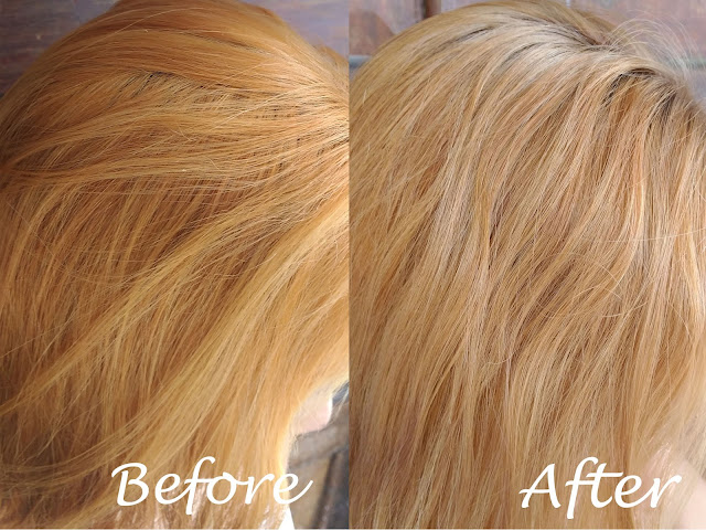 DIY Hair Toner: From Brassy Hair to Ash Blonde Hair