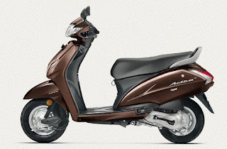 Honda Activa 4g Brown Color