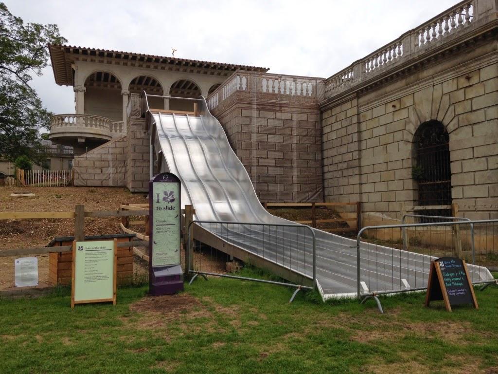 Slide at Cliveden