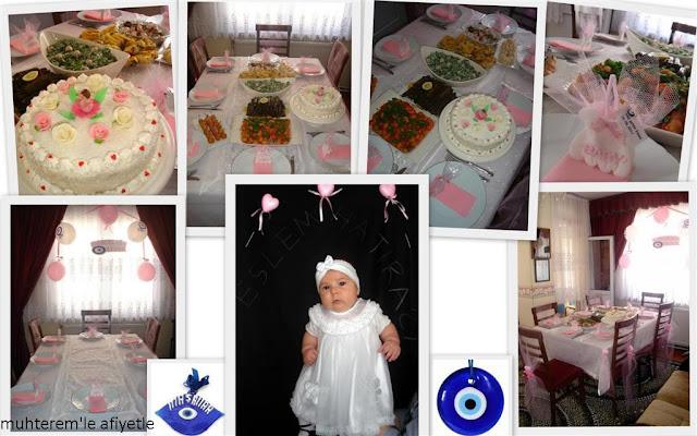 Hoşgeldin bebek partisi önerileri